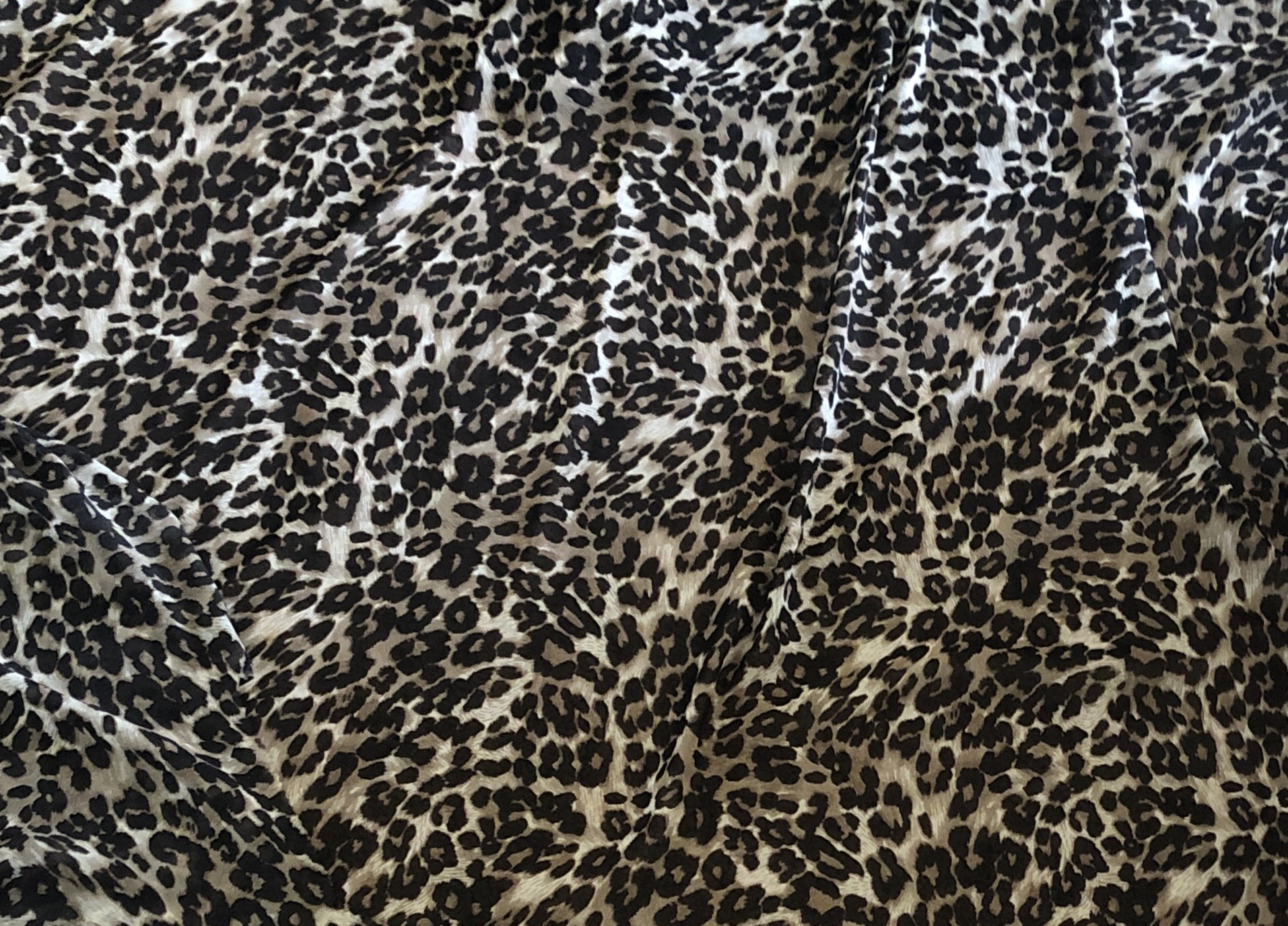 Sarabi Cheetah Print Fabric Close Up